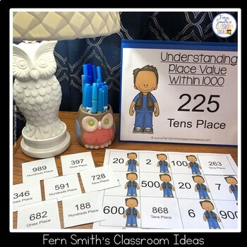2nd Grade Go Math 2.5 Understanding Place Value Within 1000 Center Games