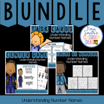 2nd Grade Go Math 2.6 Understanding Number Names Bundle
