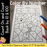 2nd Grade Go Math 2.9 Count On and Count Back by 10 and 100 Color By Numbers