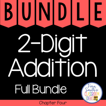 2nd Grade Go Math Chapter 4 2-Digit Addition Bundle