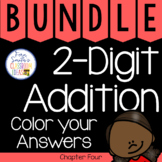 2nd Grade Go Math 2-Digit Addition Chapter 4 Color By Numb