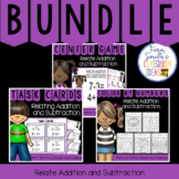 2nd Grade Go Math 3.5 Relating Addition and Subtraction Bundle