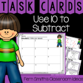 2nd Grade Go Math 3.7 Use 10 to Subtract Task Cards