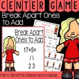 2nd Grade Go Math 4.1 Break Apart Ones to Add Center Games