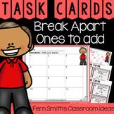 2nd Grade Go Math 4.1 Break Apart Ones to Add Task Cards