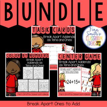 2nd Grade Go Math 4.3 Break Apart Addends as Tens and Ones Bundle