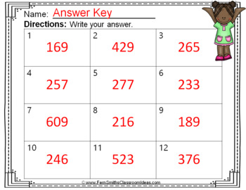 2nd Grade Go Math 6.10 Regrouping with Zero Task Cards