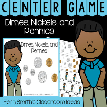 2nd Grade Go Math 7.1 Dimes, Nickels, and Pennies Center Games