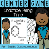 2nd Grade Go Math 7.10 Practice Telling Time Center Games