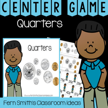 2nd Grade Go Math 7.2 Quarters Center Games