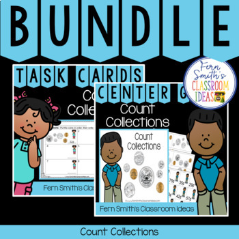 2nd Grade Go Math 7.3 Count Collections Bundle