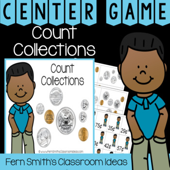 2nd Grade Go Math 7.3 Count Collections Center Games