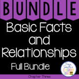 2nd Grade Go Math Basic Facts and Relationships Chapter 3 Bundle