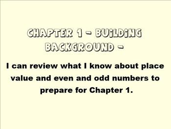 2nd Grade Go Math Chapter 1 Smartboard Slides