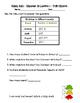 2nd Grade Go Math Chapter 10 Quick Quizzes