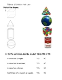2nd Grade Go Math Chapter 11 Practice Test