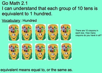2nd Grade Go Math Chapter 2 SmartBoard Lessons