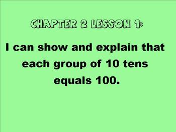 2nd Grade Go Math Chapter 2 Smartboard Slides