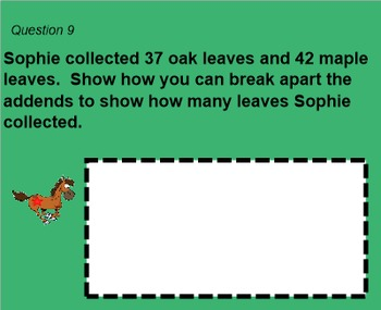 2nd Grade Go Math Chapter 4 Review Game - 2 Digit Addition