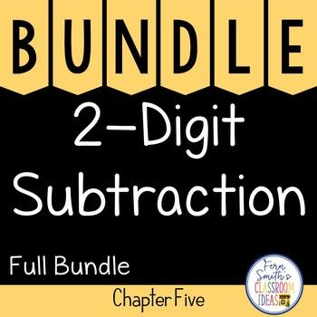 2nd Grade Go Math Chapter 5 2-Digit Subtraction Bundle