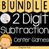 2nd Grade Go Math Chapter 5 Center Games Bundle