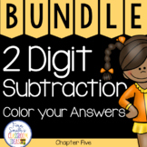 2nd Grade Go Math Chapter 5 Color your Answers Bundle