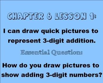 2nd Grade Go Math Chapter 6 Common Core Smartboard Slides