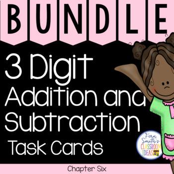2nd Grade Go Math Chapter 6 Task Cards Bundle