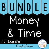 2nd Grade Go Math Chapter 7 Money and Time Bundle