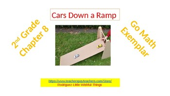 "2nd Grade Go Math Chapter 8 "" Cars Down A Ramp"""