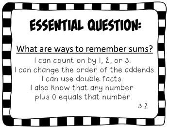 Second Grade Go Math Essential Questions Chapter 3