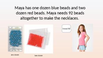 "2nd Grade Go Math Chapter 6 Exemplar ""Buying Beads"""