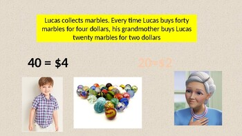 """2nd Grade Go Math Exemplar Chapter 6 """" Marbles for Lucas"""""""