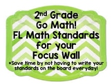 2nd Grade Go Math! - FL Math Standards - ALL Chapters - Fo