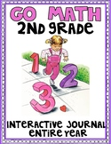 2nd Grade Go Math for the Entire Year -  Interactive Journal