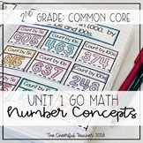 Go Math! COMMON CORE 2nd Grade Interactive Notebook: Chapter 1