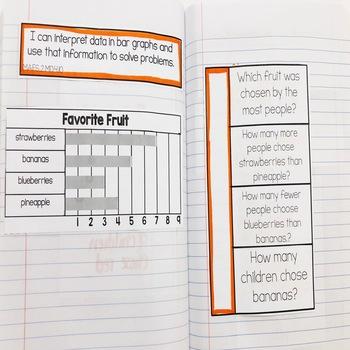 2nd Grade Go Math! Interactive Notebook: Chapter 10 ~ Florida Standards