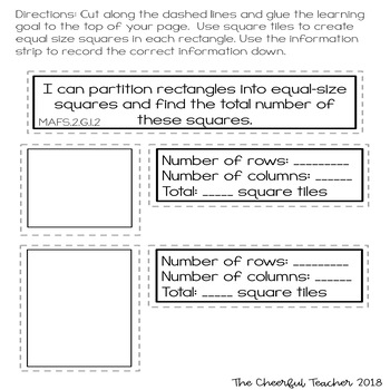 Go Math! COMMON CORE 2nd grade Interactive Notebook: Chapter 11