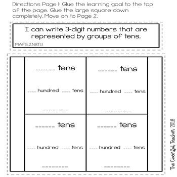 Go Math! COMMON CORE 2nd Grade Interactive Notebook ...