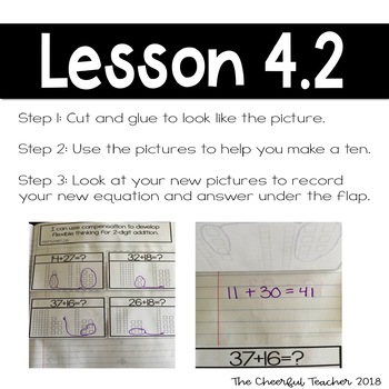 2nd Grade Go Math! Interactive Notebook: Chapter 4 ~ Common Core