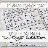 Go Math! COMMON CORE 2nd Grade Interactive Notebook: Chapter 4