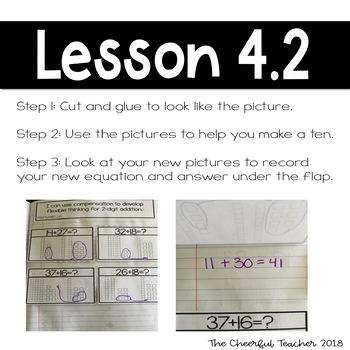 2nd Grade Go Math! Interactive Notebook: Chapter 4 ~ Florida Standards
