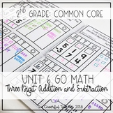 Go Math! COMMON CORE 2nd Grade Interactive Notebook: Chapter 6