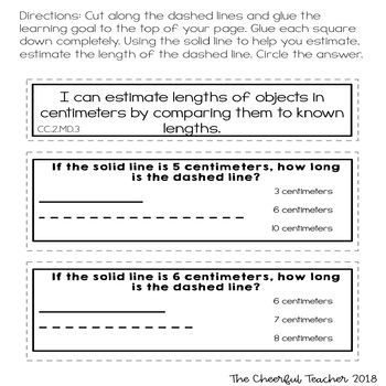 2nd Grade Go Math! Interactive Notebook: Chapter 9 ~ Common Core