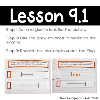 Go Math! COMMON CORE 2nd Grade Interactive Notebook: Chapter 9
