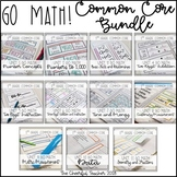 Go Math! COMMON CORE 2nd grade Interactive Notebook Bundle