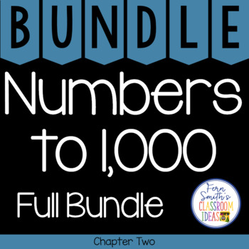 2nd Grade Go Math Chapter 2 Numbers to 1,000 Bundle