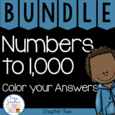 2nd Grade Go Math Numbers to 1,000 Chapter 2 Color your An