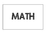 2nd Grade Go Math! Unit 1 - FL Math Standards - Focus Wall
