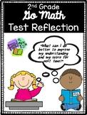 Go Math Test Reflection - 2nd Grade